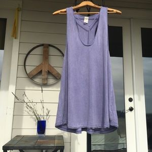 Free People Amelia soft tank with neck feature